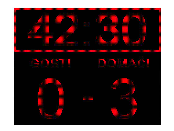 sportski semafor za fubal - nogomet