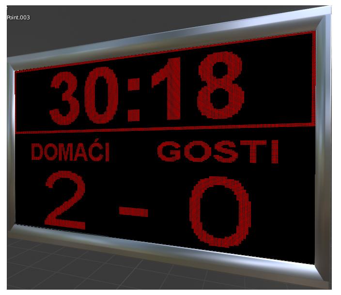 sportski semafori displej za fudbal