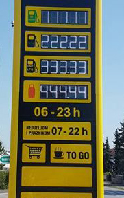 led displej za totem za benzinske pumpe - stanice