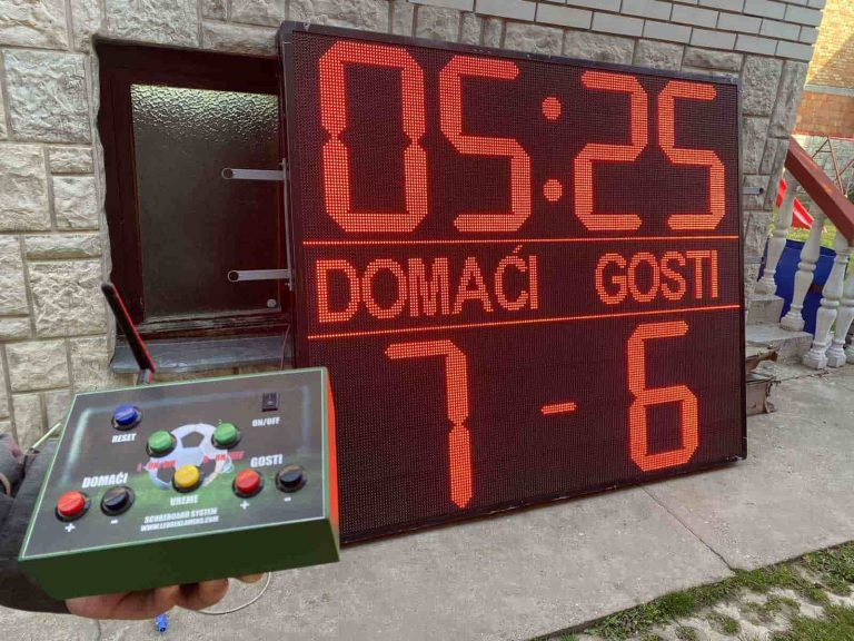 sportski semafor za fudbal FK Lovćenac