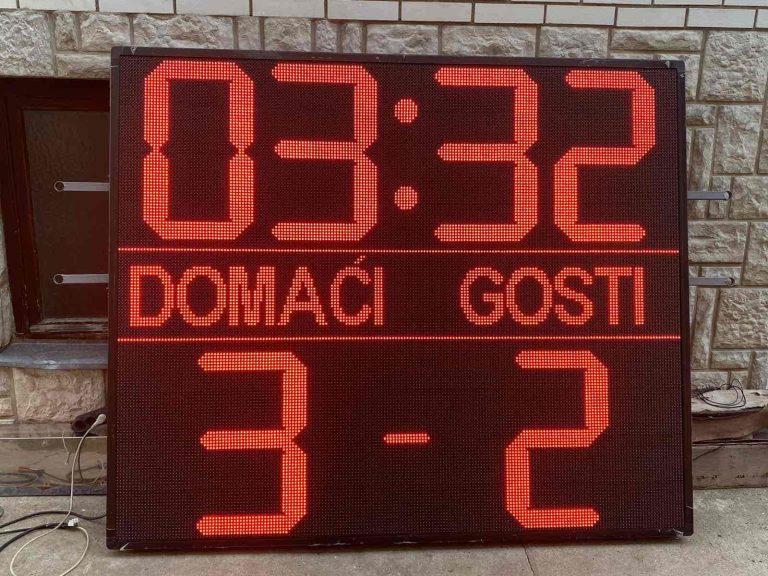 sportski semafor za fudbal FK Lovćenac 2